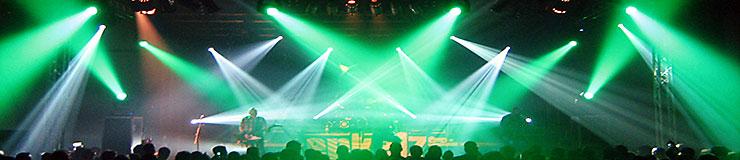 Bühne mit Showlicht